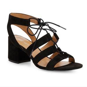 Nine West Ganazia Lace Up Sandals
